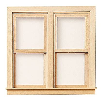 Amazon Com Dollhouse Traditional Double Working Window Toys Games