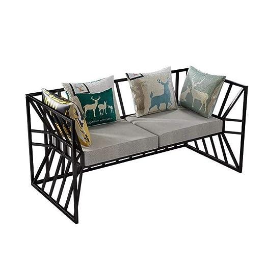 MIKEWEI Muebles Simples Casa Sala De Estar De Hierro Forjado ...