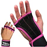 Cross Training Gloves with Integrated Wrist Support – Strong Grip, Comfortable Alternative to Full Gloves Best for Weightlifting Workouts, Fitness, Kettlebell, Gym Training, Powerlifting - Men & Women