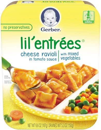 Baby Food: Gerber Lil' Entrees