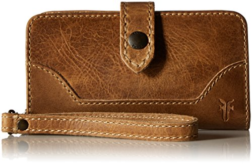 FRYE Melissa Phone Wallet, Beige by FRYE