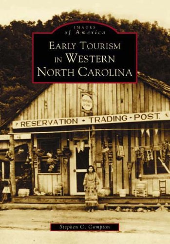 Early Tourism in Western North Carolina  (NC)  (Images of - Rock Carolina Blowing North