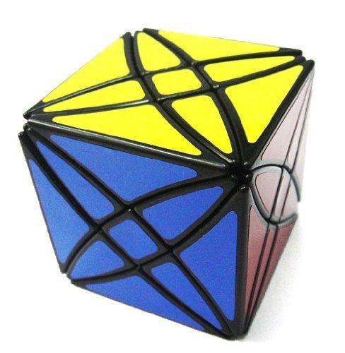 Lanlan® Flower Rex Puzzle Cube Black M20B