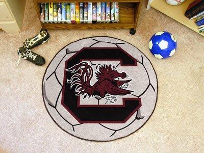 Fanmats South Carolina Gamecocks Soccer Ball-Shaped Mats