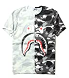 B-shark Juniors Casual Fashion Crewneck T Shirt Shark Camo Tees Pullover Tops For Teens