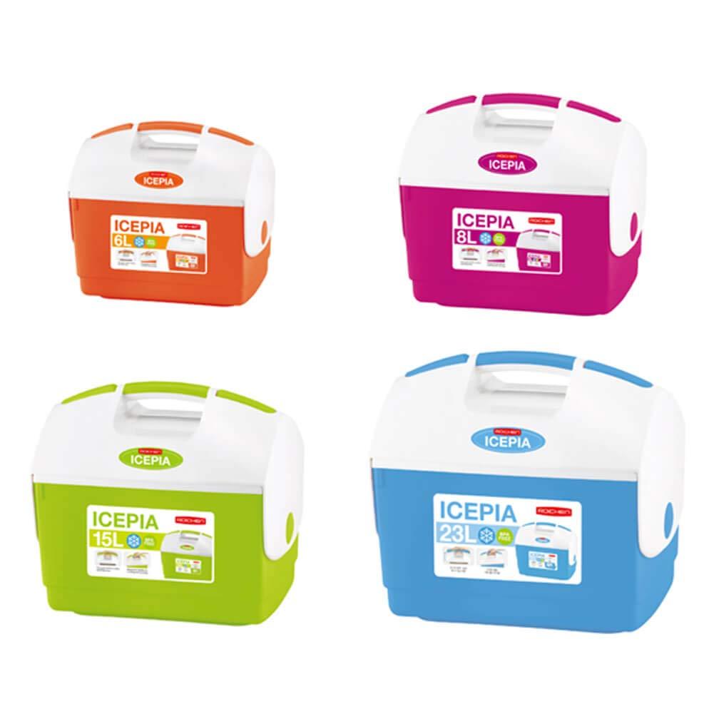 Amazon.com: Roichen Icepia Cooler con reutilizable 18oz Ice ...