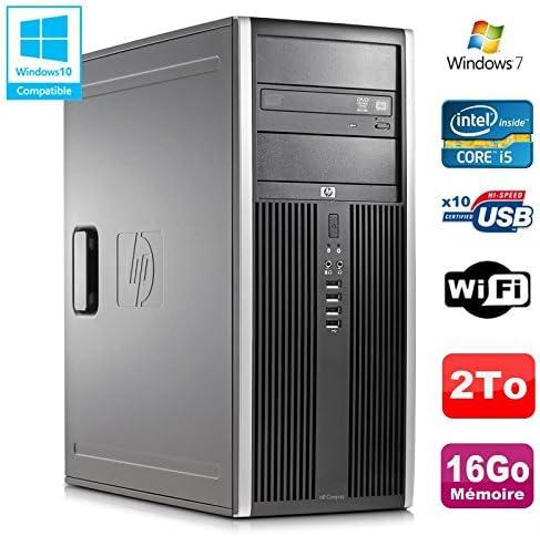 /650/3.2/GHz 16/GB Disco 2to Grabador WiFi Win 7 HP Torre PC Elite 8100/CMT Core i5/