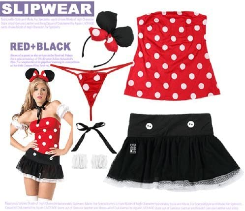 GQ disfraz sexy cat Girl Mickey Bar Minnie vestido de disfraces ...