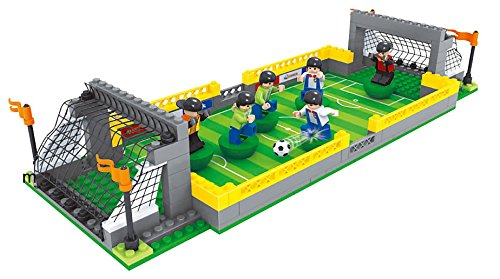 Building Toys Teens : Brick land soccer stadium building