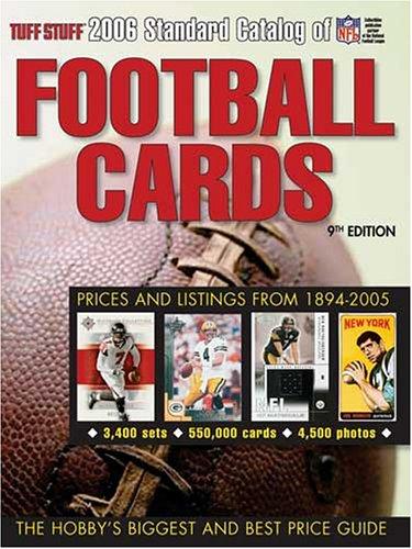 Tuff Stuff Standard Catalog Of Football Cards