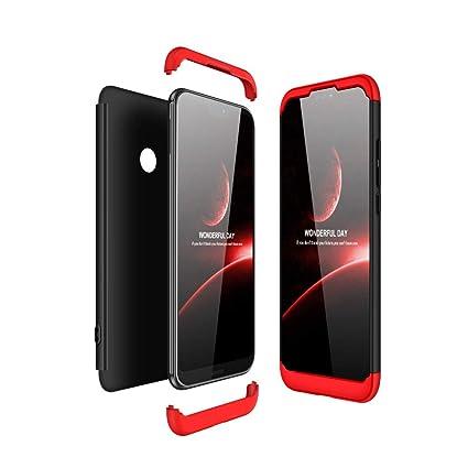 JMGoodstore Funda Huawei P20 Lite,Carcasa Huawei P20 Lite,Funda 360 Grados Integral para Ambas Caras+Cristal Templado,[360°] 3 in 1 Slim Fit ...