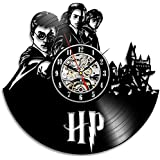 Harry Potter Hermione Vinyl Record Wall Clock - Decorate your home with Modern Art - Gift for adults, girls and boys - Win a prize for a feedback