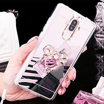 coque silicone huawei mate 9 bague