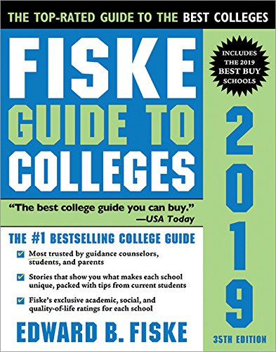 Fiske Guide to Colleges 2019 cover