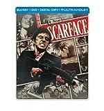 Scarface (1983) (Steelbook) (Blu-ray + DVD + Digital Copy + UltraViolet) by Universal Studios