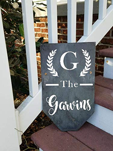 (Slate Sign, Vintage Slate Sign, Personalized Sign, Welcome Sign, Custom Sign, Custom Slate Sign, Welcome Slate Sign, Gift Idea, Outdoor Sign Wooden Sign Wall Decor Garden Signs and Plaques)