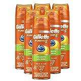 Gillette Fusion5 Ultra Sensitive Shave Gel, 7oz (Pack of 6)