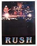 1981 Rush Exit Stage Left Concert Poster