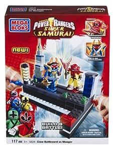 Mega Bloks 5824 Power Rangers Samurai  Claw Battle Zord