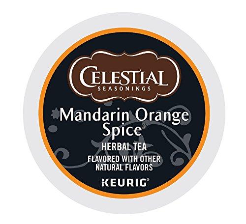Celestial Seasonings Tea K-Cups, Mandarin Orange Spice, 96-Count