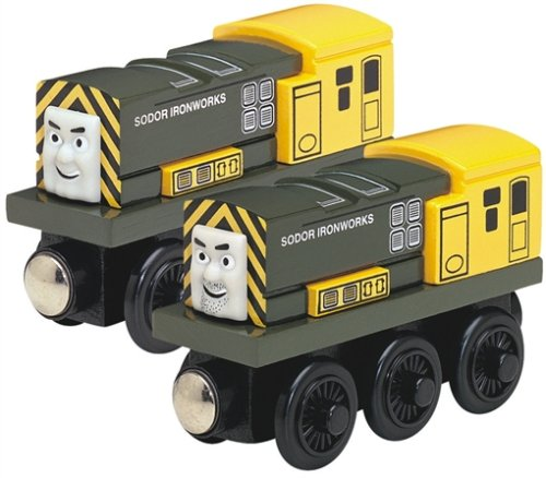 Learning Curve Thomas and Friends Wooden Railway - Iron 'Arry and Iron Bert ()