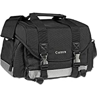 Canon 200DG Digital SLR Camera Case Gadget Bag with LP-E6 Battery + Charger + Tripod + Flash Diffuser Kit for EOS 6D, 6D Mark II, 80D, 7D 5D Mark II III IV by Canon