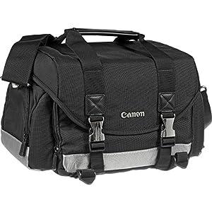 Canon 200DG Digital SLR Camera Case Gadget Bag with LP-E6 Battery + Charger + Tripod + Flash Diffuser Kit for EOS 6D, 6D Mark II, 80D, 7D 5D Mark II III IV by Canon