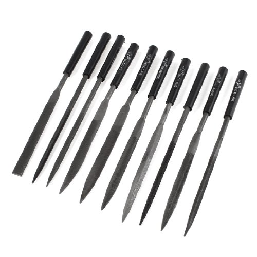 140 mm Rolson 24619 Needle File Set 10 Pieces