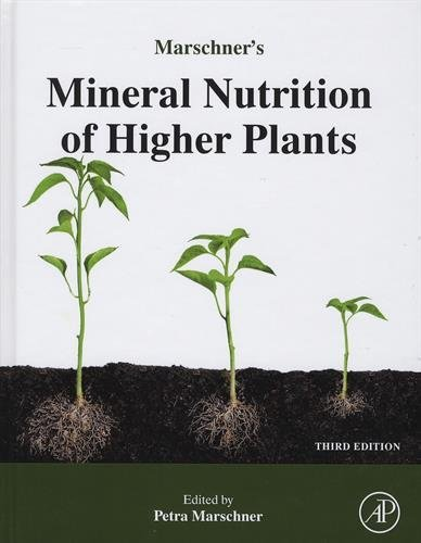 Marschner's Mineral Nutrition of Higher Plants, Third Edition by Horst Marschner (2011-09-08)