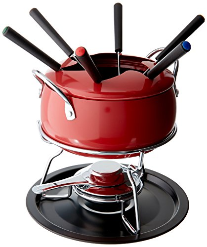 IMUSA USA GKM-61023 Complete Fondue Set with Forks, ()