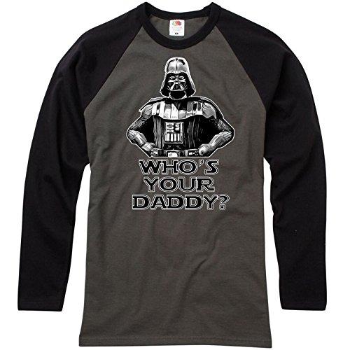 StarliteFunnyShirts Mens Funny T Shirts-Darth Vader Whos Your Daddy Star Wars Inspired tshirt 203