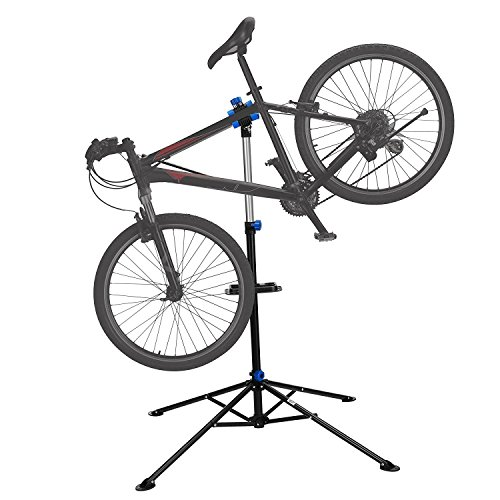 bike repair stand rack foldable cycle bicycle workstand home pro mechanic maintenance tool
