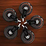 Caster Chair Wheels Office Replacement Set of 5