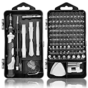 #LightningDeal Royace Precision Screwdriver Set,119 in 1 Laptop Screwdriver Kit Mini Screwdriver Set Magnetic, Impact Driver Bits Set with Case,Computer Repair Tool Kit for Iphone,Electronics,Ps3s