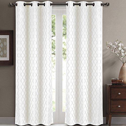 White Blackout Curtains: Amazon.com
