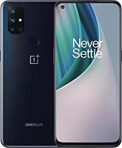 OnePlus Nord N10 5G Dual-SIM 128GB ROM + 6GB RAM (GSM | CDMA) Factory Unlocked Anroid Smartphone (Midnight Ice) - International Version