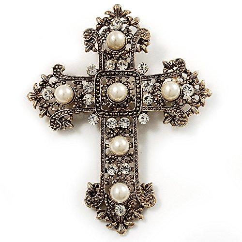 Cross Brooch - 5