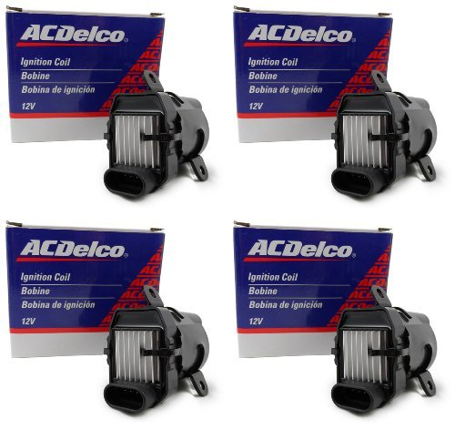 Four New OEM ACDelco Ignition Coils D585 10457730 UF262 C1251 BSC1251 19279910