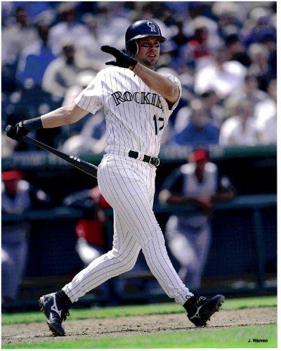 (Todd Helton Colorado Rockies Unsigned Baseball Photo)