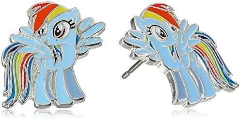 My Little Pony Girls' Enamel Stud Earrings