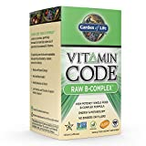 Garden of Life Vegan B Vitamin - Vitamin Code Raw B Complex Whole Food Supplement, 60 Capsules