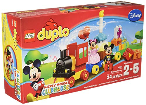 LEGO Duplo l Disney Mickey Mouse Clubhouse Mickey & Minnie Birthday Parade 10597 Disney Toy]()