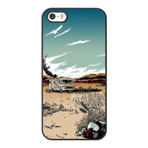 Coque,Apple Coque iphone 5/5S/SE Case Coque, Generic Breaking Bad Art Prints Cover Case Cover for Coque iphone 5 5S SE Noir Hard Plastic Phone Case Cover
