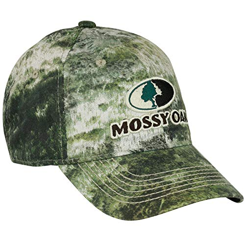 Mossy Oak Camo Hats for Men, Hunting Hat, Camo Hat for Women, Logo Cap