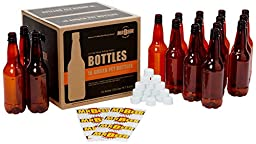 Mr. Beer Homebrewing 2 Gallon Deluxe Beer Bottling System, 0.5-Liter