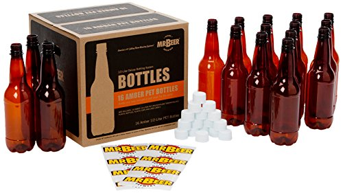 Mr. Beer Homebrewing 2 Gallon Deluxe Beer Bottling System, 0.5-Liter]()