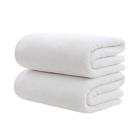 Aibada - Juego de 2 Toallas de baño de algodón Egipcio de 500 g/m²