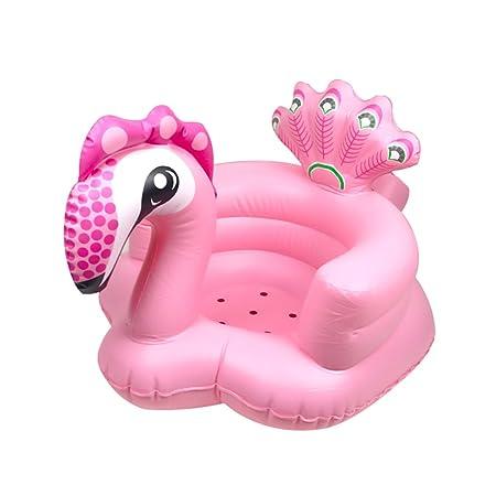 Bath chair Silla de Baño/Asiento Hinchable para bebé ...