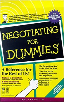 Title: Negotiating for Dummies