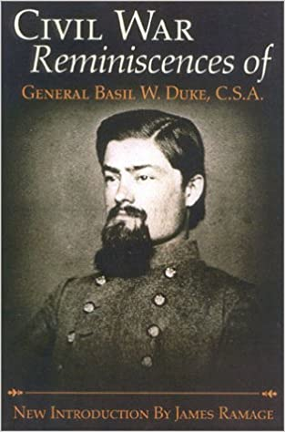 Image result for T(Reminiscences of General Basil W. Duke, CSA